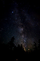 View of Milky Way from Acadia campsite